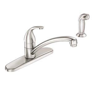 Moen Adler 1 Handle Kitchen Faucet, Chrome