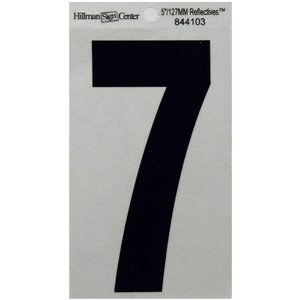 Hillman 5-in Reflective Mylar Numbers