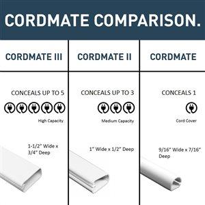 Legrand CordMate 2.5-in PVC T-Fitting Conduit