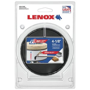 LENOX LNX 4-1/8-in Non-Arbored Hole Saw