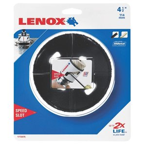 LENOX LNX 4-1/2-in Non-Arbored Hole Saw