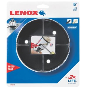 LENOX LNX 5-in Non-Arbored Hole Saw
