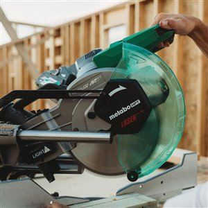 Metabo HPT (was Hitachi Power Tools) 15-in 15-Amp Dual-Bevel Sliding Laser Compound Miter Saw
