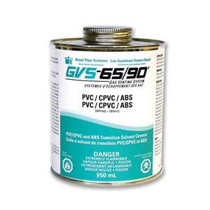 RPS Products 950mL GVS-65 and GVS-90 PVC, CPVC and ABS Transition Cement