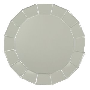 Beveled Edge Round Mirror