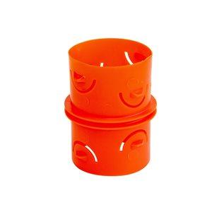 Big 'O' Big 'O' 4-in Orange Coupler Insert Drain Fitting