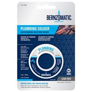 BernzOmatic 3-oz Lead-Free Wire Copper Pipe Solder