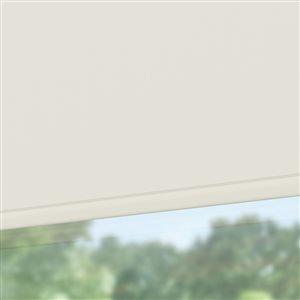 LEVOLOR Trim+Go Cream Blackout Cordless Indoor Roller Shade (Actual: 37-in x 78-in)