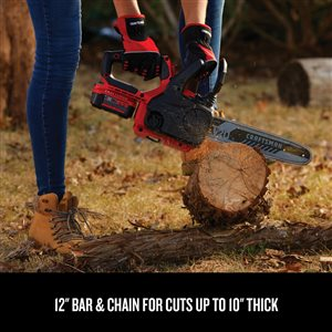 CRAFTSMAN CFT 20-volt 12-in Compact Chainsaw