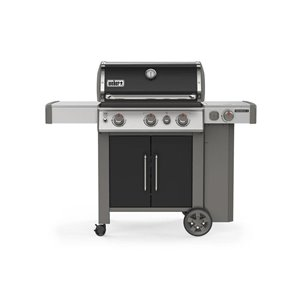 Weber Genesis II E-335 Liquid Propane Gas Grill in Black with Built-in Thermometer