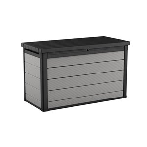 Keter Premier Resin Deck Box 200-gal - Grey Anthracite