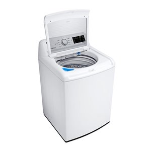 LG 5.2-cu ft High-Efficiency Top-Load Washer (White) ENERGY STAR