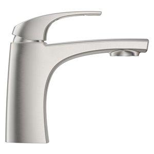 Pfister Karci Single Control 4-in Centerset Bathroom Faucet in Spot Defense Brushed Nickel