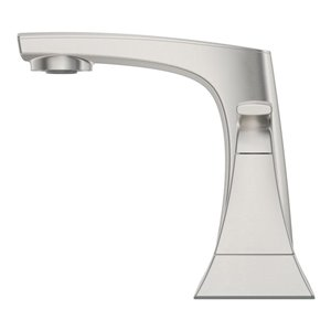 Pfister Karci 2-Handle 4-in Centerset Bathroom Faucet in Spot Defense Brushed Nickel