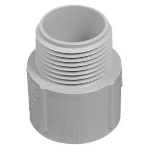 CARLON 2-in Terminal Coupling Schedule 40 PVC Compatible Schedule 80 PVC Compatible Conduit Fitting