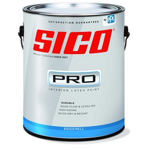 SICO Multi-Colour Eggshell Latex Interior Paint (Actual Net Contents:124.0)