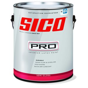 SICO Multi-Colour Semi-gloss Latex Interior Paint (Actual Net Contents:124.0)