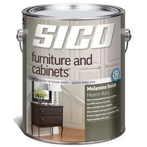 SICO Furniture Multi-Colour Soft-gloss Latex Interior Paint (Actual Net Contents:124.0)
