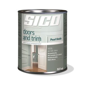 SICO White Satin Latex Interior Paint (Actual Net Contents:30.0)