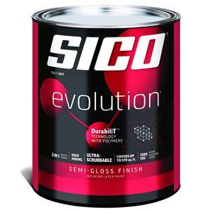 SICO Multi-Colour Semi-gloss Latex Interior Paint (Actual Net Contents:30.0)