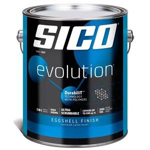 SICO Multi-Colour Eggshell Latex Interior Paint (Actual Net Contents:124.0)