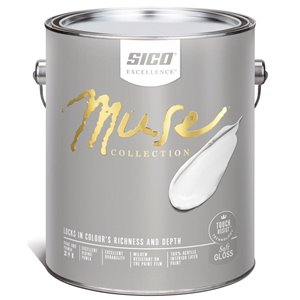 SICO Multi-Colour Soft-gloss Acrylic Interior Paint (Actual Net Contents:30.0)