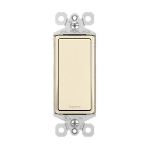 Legrand 15-Amp Light Almond 3-Way Decorator Light Switch