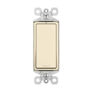 Legrand 15-Amp Light Almond 3-Way Decorator Light Switch