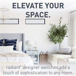 Legrand 15-Amp White 3-Way Decorator Light Switch