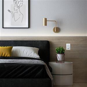 Legrand 15-Amp White 4-Way Decorator Light Switch
