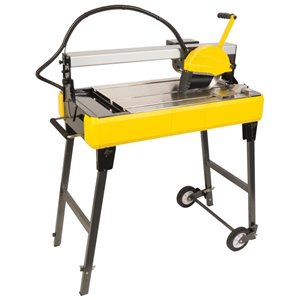 Q.E.P. 8-in Wet Tile Bridge Saw with Stand (83200Q)