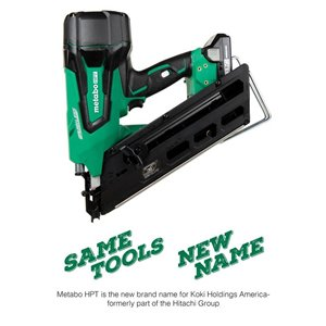 Metabo HPT (was Hitachi Power Tools) 18-Volt Framing Cordless Nailer with Battery