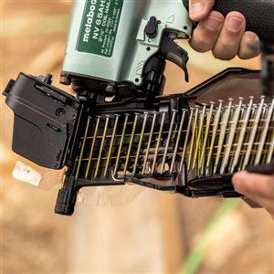 Metabo HPT (was Hitachi Power Tools) -Gauge Siding Pneumatic Nailer
