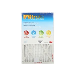 3M 16-in x 25-in x 1-in 4-Season Allergen Reduction Air Filter (4 -Pack)