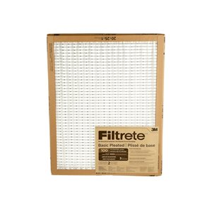 3M 20-in x 25-in x 1-in 100 MRP Basic Pleated Air Filter