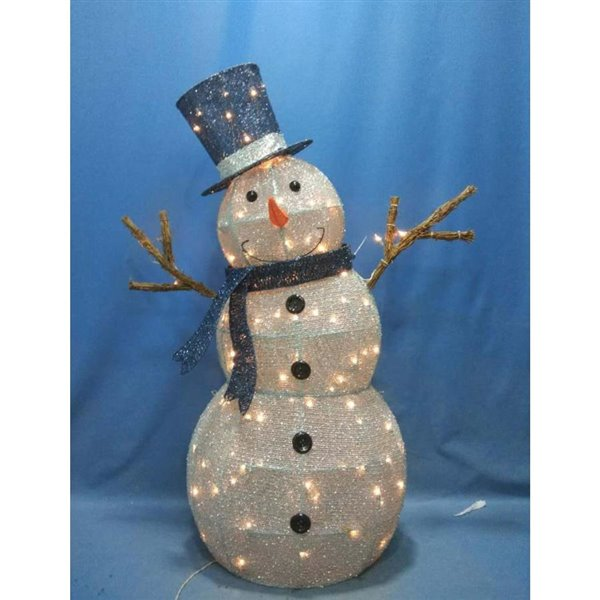 Sylvania 52 In Led Outdoor Snowman Lowe S Canada