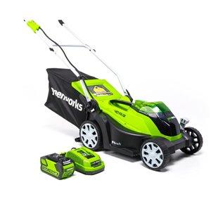 Greenworks 40-Volt 14-in Push Lawn Mower