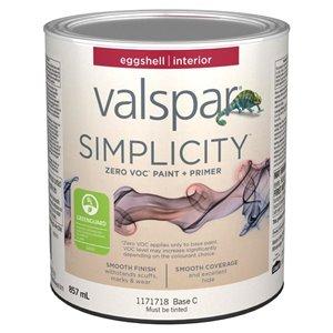 Valspar Simplicity Eggshell Latex Interior Paint (Actual Net Contents:29)