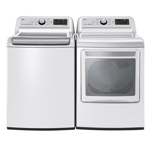 LG High-Efficiency Top-Load Washer (White) ENERGY STAR
