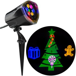 Gemmy Christmas Tree LED Multi-Colour Light Projector