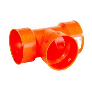 Big 'O' Big 'O' 4-in Orange Snap Tee Drain Fitting