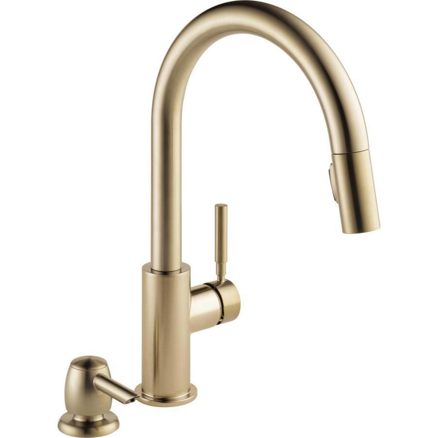 Delta Trask Single Handle Kitchen Faucet Chrome