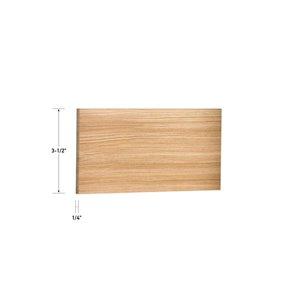 1/4 x 3-1/2 x 4 Oak S4S