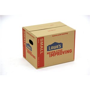 Lowe's Small Cardboard Moving Box