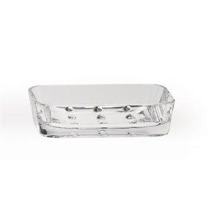 Moda at Home Optiks Acrylic Clear Soap Dish