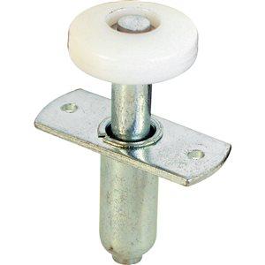 Prime-Line Bi-Fold Door Spring Loaded Top Guide w/ Roller (2-Pack)