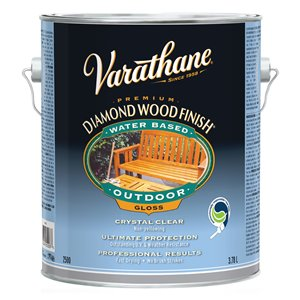 3.78 L Outdoor Water-Based Diamond Wood Finish