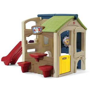 Step2 multi-functional outdoor playhouse with Slide - 7-ft