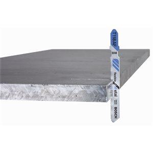 Bosch 3 5/8-in 11-14 TPI Basic for Metal T-Shank Jigsaw Blade (5-Pack)