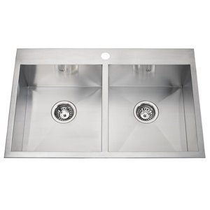 Kindred Drop-In/Undermount Kitchen Sink